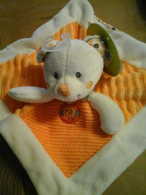 DOUDOU OURSON ORANGE D03 Image